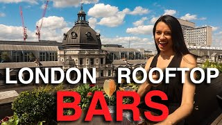 London's Coolest Rooftop Bars 🍹 | Summer in London | Love and London