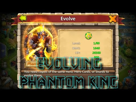 Castle Clash | Evolving Phantom King