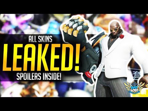 Overwatch - ALL ANNIVERSARY 2018 SKINS LEAKED!
