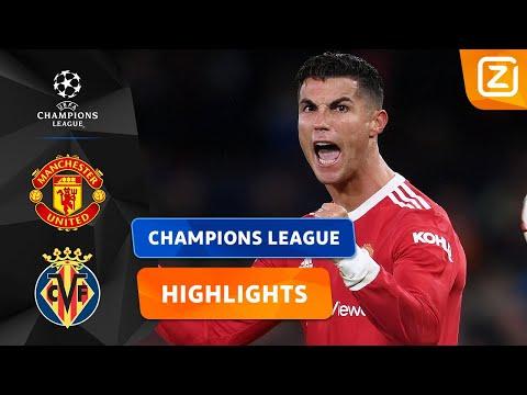 RONALDO IS DE GROTE MAN! 🇵🇹❤️ | Man United vs Villarreal | Champions League 2021
