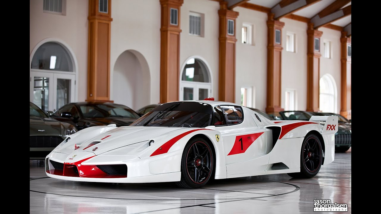 Ferrari Fxx Evolution Start Up Youtube