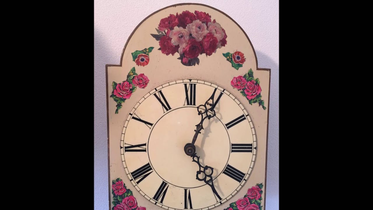 Antique dutch chain driven full working apple wall clock spares antique dutch chain driven full working apple wall clock spares amipublicfo Choice Image