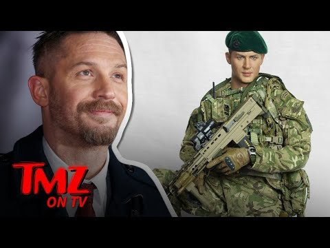 Tom Hardy Transforms into Royal Marine Action Figure for Charity | TMZ TV