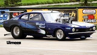 """""""CHRISTINE'S COMET"""" BLOWN~INJECTED~645BBF~'72 MERCURY COMET AT RT66"""