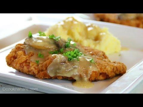 Chicken Steak With Gravy In 30 Minutes - Super Delicious