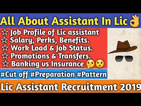 Lic Assistant Job Profile   Work Load   Salary   Promotion   Transfer   Comparison With Banking   👍