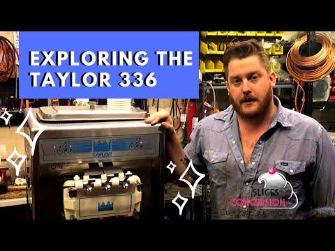 Taylor 336 Soft Serve Ice Cream Machine Exploration