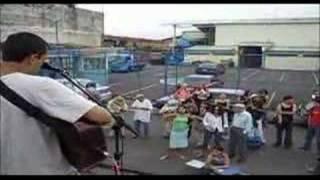 Primera visita de La Casadora, Barrio Cuba 29 octubre 2005