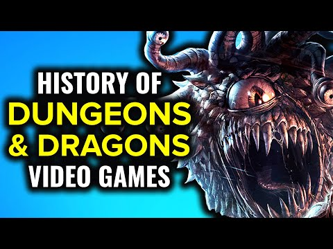 History Of Dungeons & Dragons Video Games