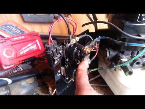 mercruiser 300 hp trim problems