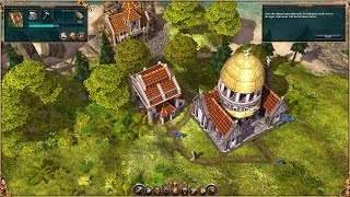 The Settlers 2: 10th Anniversary gameplay. Tutorials and intro