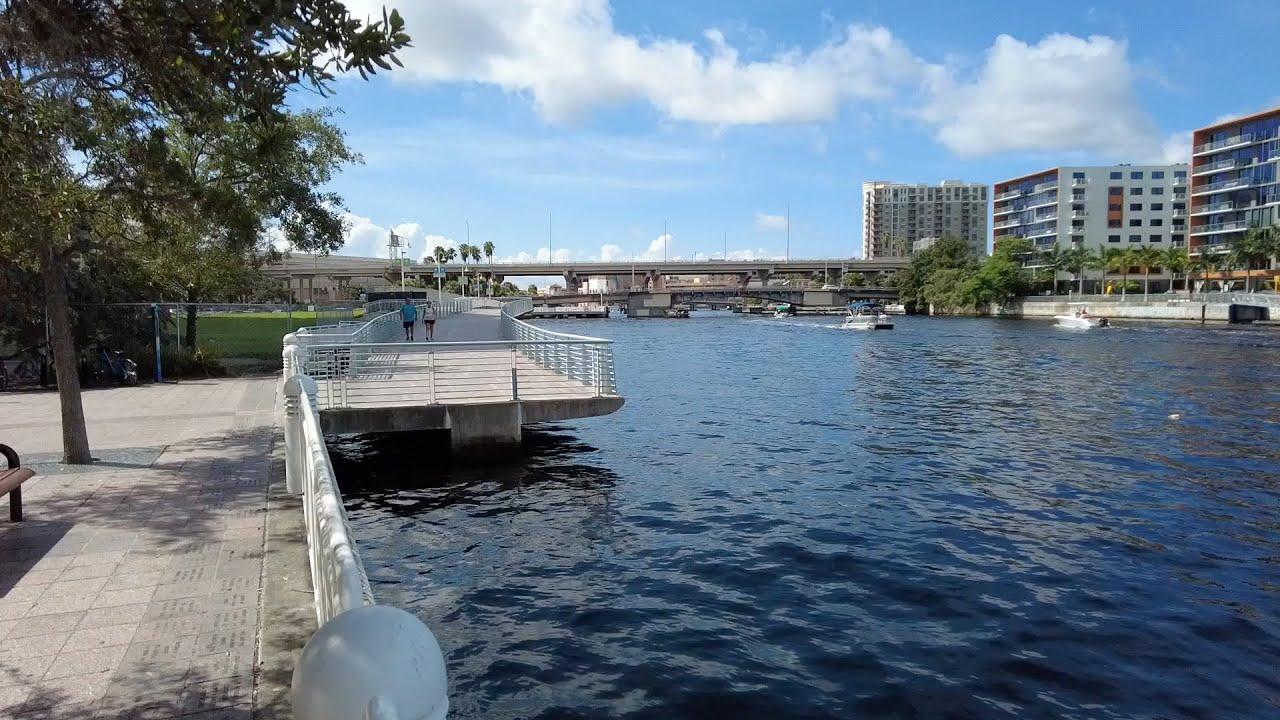Tampa, Florida - Tampa Riverwalk (2021)