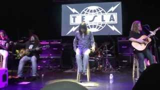 TESLA - Wonderful World - Acoustic Show - Monsters of Rock Cruise 2014- NEW ALBUM COMING