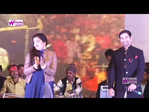 निरहुआ आम्रपाली के साथ स्टेज शो -  बलम हो तेल गमकौआ - New Hit Live Song 2017