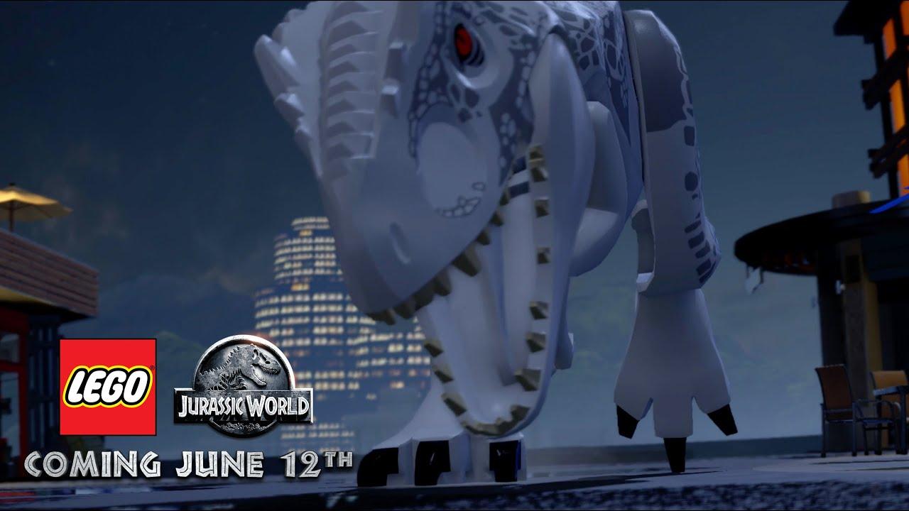 Lego Jurassic World Game Welcome To Trailer Voucher Indomaret 100 X10pcs