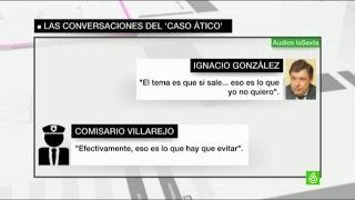 Ignacio González afirma en una conversación con comisarios que quiere tapar la polémica de su ático