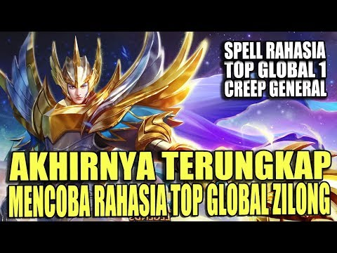 VIRAL !! TERBONGKAR RAHASIA MENANG TOP GLOBAL ZILONG -  MOBILE LEGENDS INDONESIA