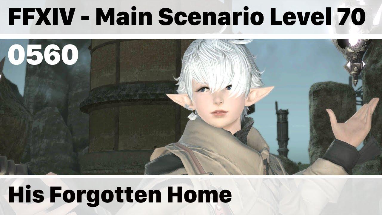 FFXIV His Forgotten Home - Main Scenario 0560 - Stormblood