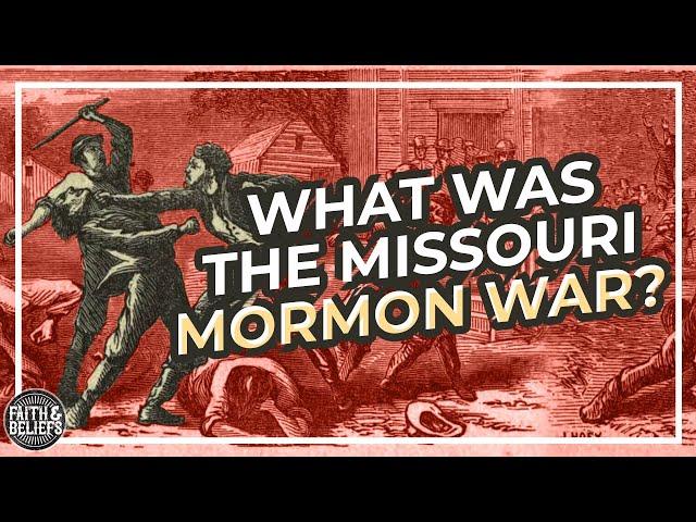 What was the Missouri Mormon War?