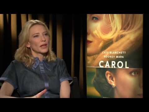 "Carol: Cate Blanchett ""Carol"" Official Movie Interview"