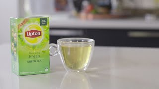 New Lipton Delicately Fresh Green Tea