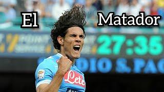 Edinson Cavani : All 78 goals for Napoli in Serie A