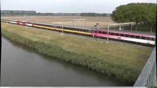2802, Benelux passeert rangeerterein  Kijfhoek, 22-9-2014,