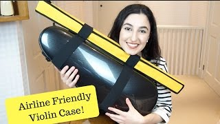 Violin Case Made For Airline Travel - Bam Hightech Cabin Violin Case