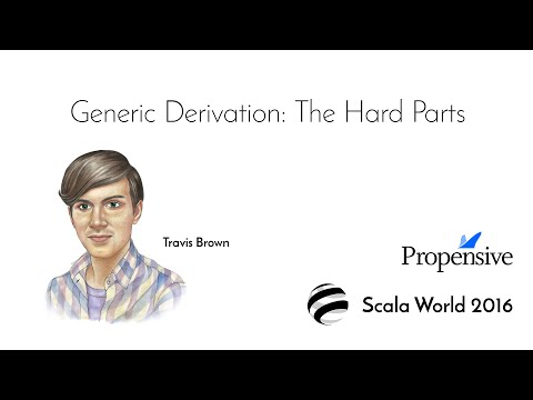 Generic Derivation: The Hard Parts—Travis Brown