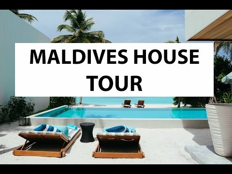 I'M MOVING TO THE MALDIVES - HOUSE TOUR