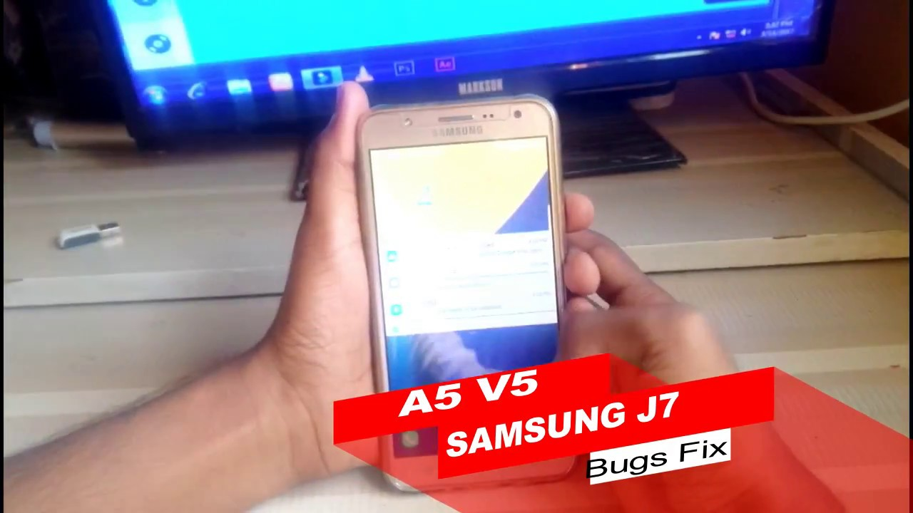A5 V5 VoLte Rom For Samsung J7 From XDA || #seesomethingnew