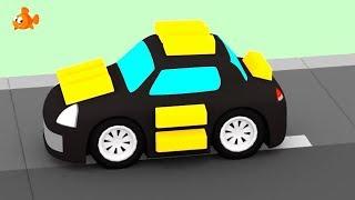 BANK ROBBER! - Car Cartoons for Kids - Cartoon compilations - Kids Cartoons - Videos for kids