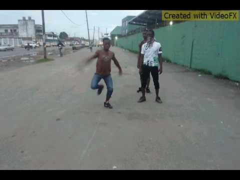 Liberia best dancing crew doing free star