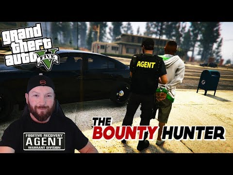 GTA 5 LSPDFR - WORKING AS A BOUNTY HUNTER!! (BUSTING PEOPLE AT THEIR JOBS)
