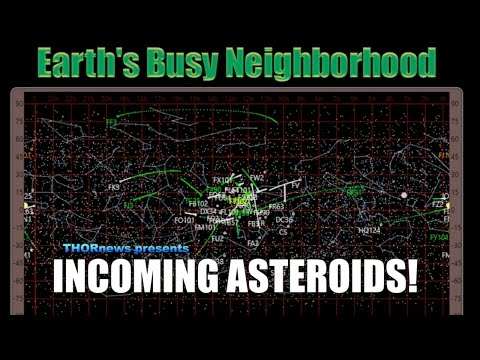 New Incoming Near Earth Asteroids - eyes on 2017 FU102