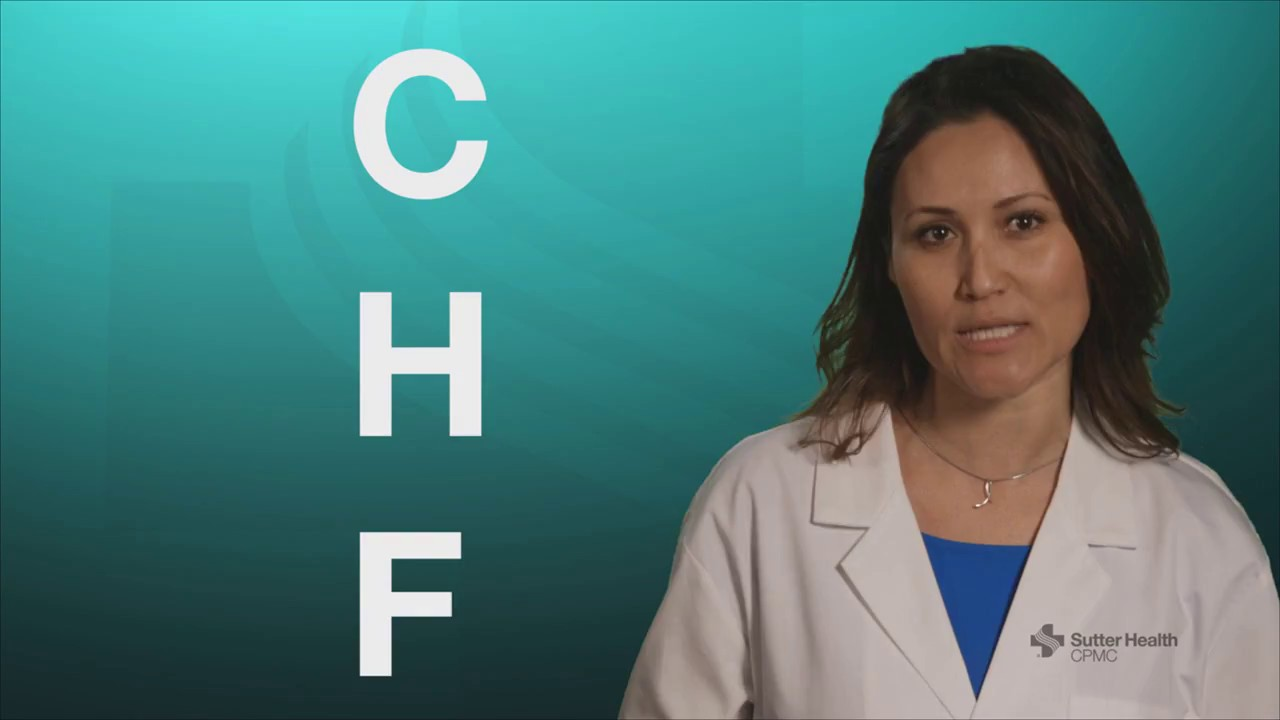 Congestive Heart Failure Chf Spanish