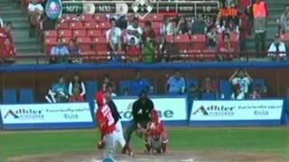 Venados de Mazatlán vs, Águilas de Mexicali, 2 de noviembre de 2014.