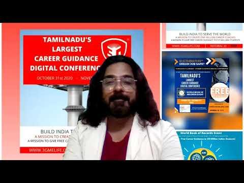3G Melife Career Guidance Tamil Nadu Digital VC