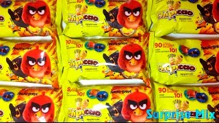 ЭНГРИ БЁРДС В Кино - НОВЫЕ фишки в круассанах ЧИПИКАО CHIPICAO Angry Birds Movie croissant SURPRISES