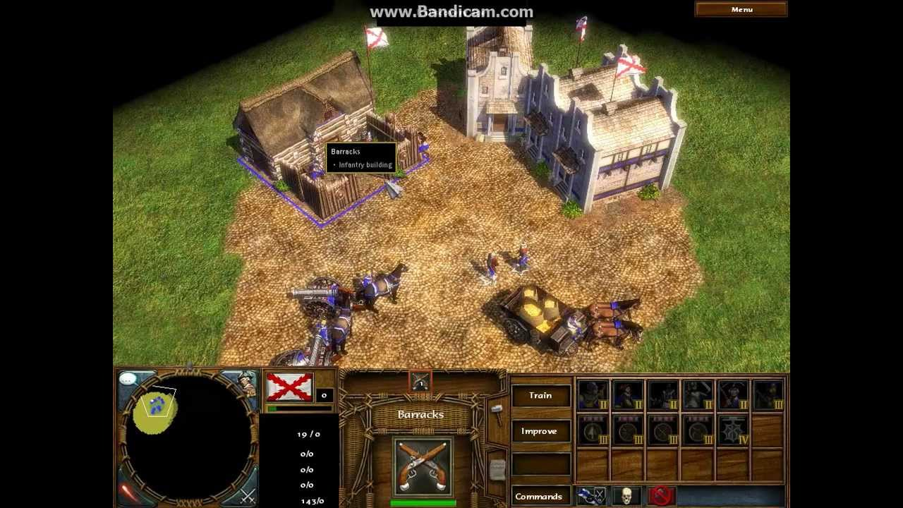 Age of Empires 3 - How To Put Boneguard On Barrack by Max Parker