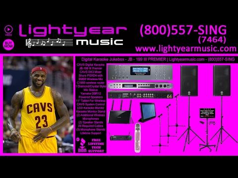 Karaoke Machine Karaoke Player Cavs JB199 III | Lightyearmusic (800)557-SING