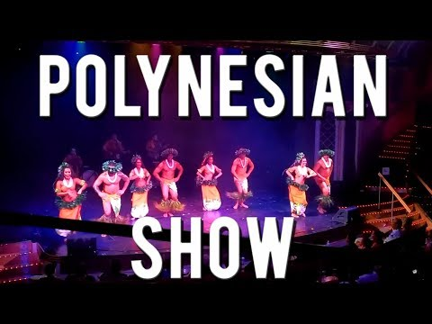 Introduction To Polynesian Culture Show