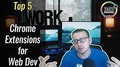 Top 5 Chrome Extensions for Web Development   Ask a Dev