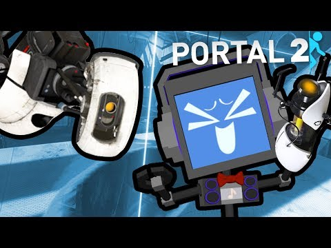 PORTAL 2 (PART 2) ► Fandroid the Musical Robot