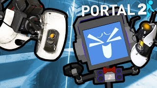PORTAL 2 (PART 2) ► Fandroid the Musical Robot