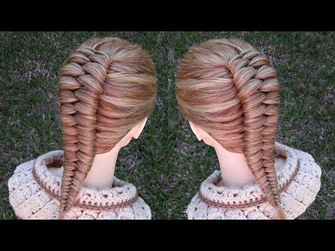 Trenza infinita | peinados f�ciles | La reina de las trenzas