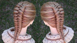 Trenza infinita | peinados fáciles | La reina de las trenzas