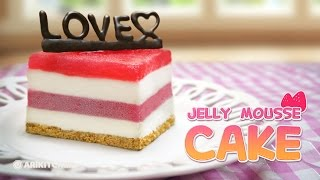 젤리 무스 케이크 만들기 How To Make Jello Mousse Cakes! - Ari Kitchen