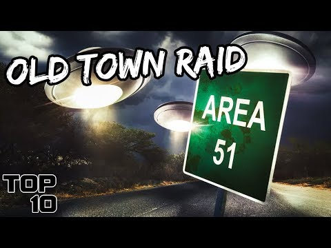 Top 10 Scary Area 51 Urban Legends - Part 2