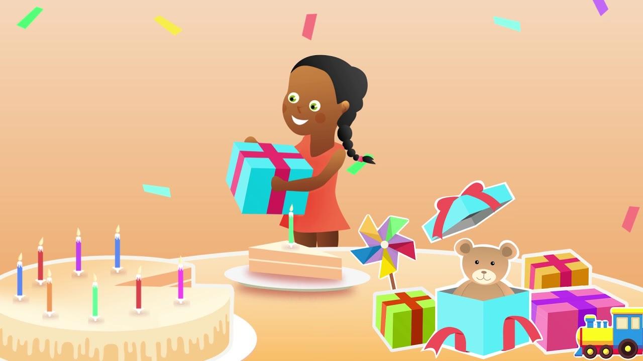 Comptine Pour Bebe Avec Le Prenom Nadege Joyeux Anniversaire Youtube